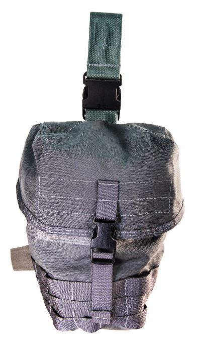 High Speed Gear 12GM01BK Mask and Dump Pouch-MOLLE-Black