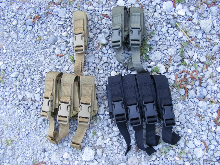 High Speed Gear 12PM01CB Single Modular Pistol Pouch-MOLLE-Brown