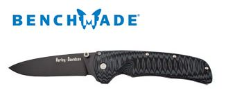Benchmade 13175BK HD Venom Black Plain Edge Assisted Opening