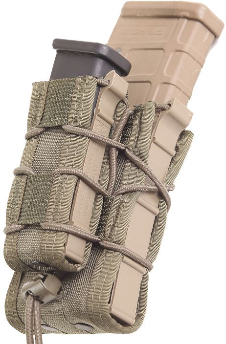 High Speed Gear 13DD00OD Double Decker Belt Mount - Olive Drab