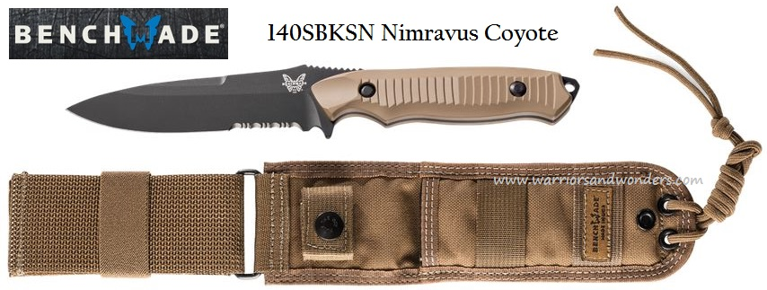 Benchmade Nimravus Coyote Handle 140SBKSN