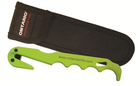 OKC 1420 Saftey Green Strap Cutter w/Sheath (Online Only)