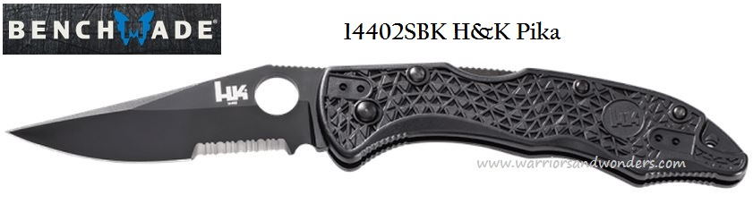 Heckler & Koch Pika Drop Point Partially Serrated 14402 (Online)