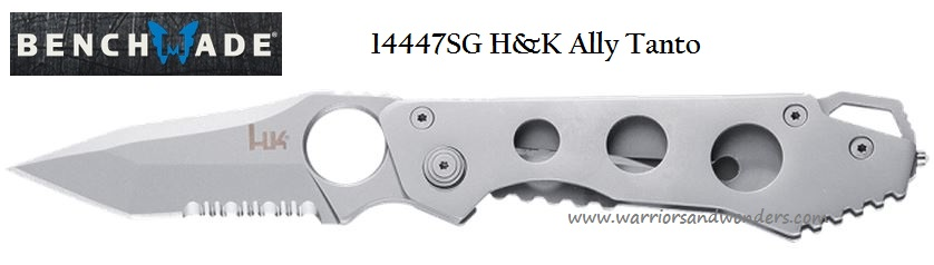 Benchmade Heckler & Koch 14447SG Ally Tanto Folder (Online Only)