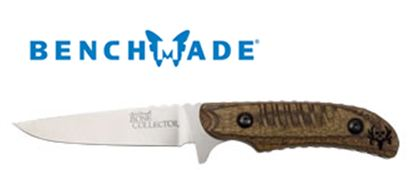 Benchmade 15000-2 Caping Fixed Plain Edge w/Walnut Handle