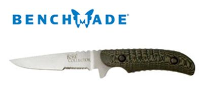 Benchmade Bone Collector Caping w/Leather 15000S-1 (Online)