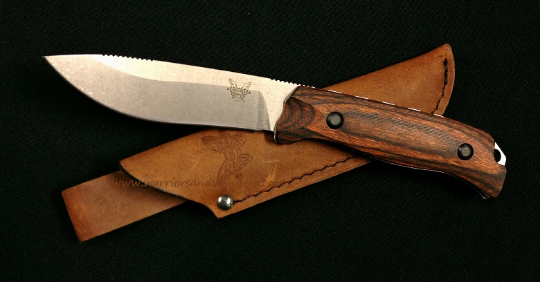 Benchmade Hunt S30V Saddle Mountain Skinner - Dymondwood 15001-2