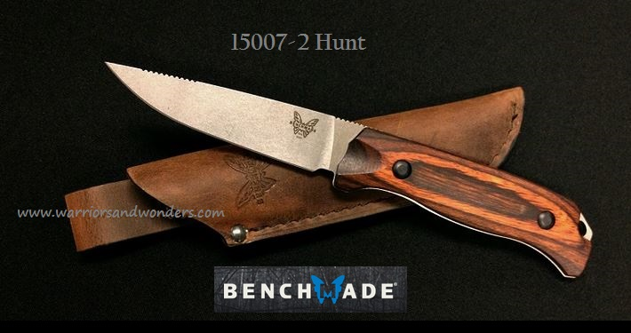 Benchmade Hunt S30V Saddle Mountain Hunter - Dymondwood 15007-2