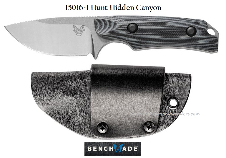 Benchmade Hunt S30V Hidden Canyon Hunter - G10 15016-1 (Online Only)