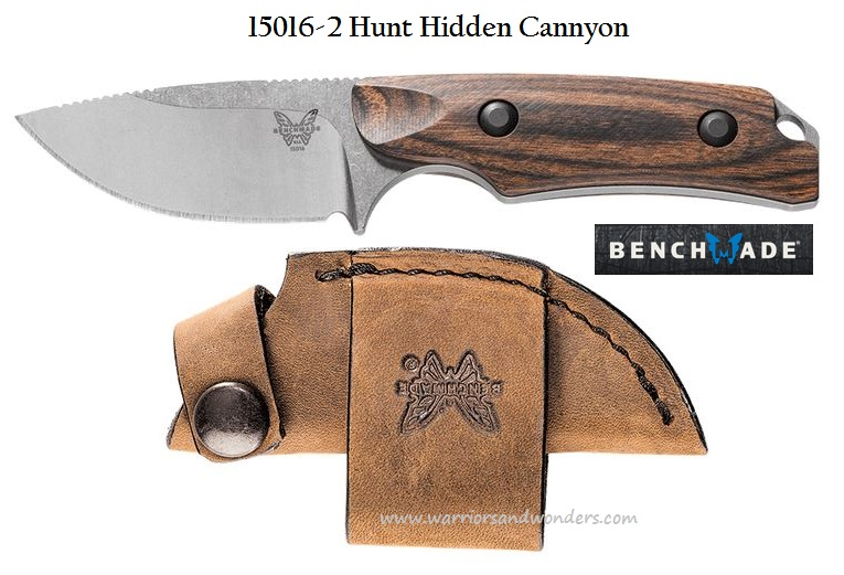 Benchmade Hunt S30V Hidden Canyon Hunter - Dymondwood 15016-2