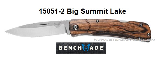 Benchmade Big Summit Lake Folder - Dymondwood Handle 15051-2