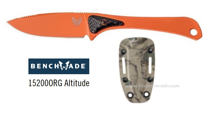 Benchmade 15200ORG Altitude, S90V - Orange (Online Only)