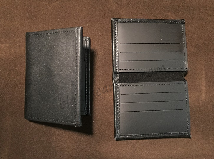 Boston Leather 165S-1CC Book Style Wallet