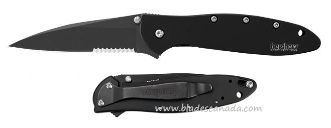 Kershaw 1660CKTST Leek Black Assisted Opening (Online Only)