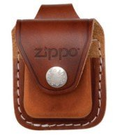 Zippo LPLB Leather Lighter Loop Pouch - Brown