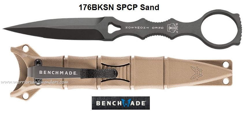 Benchmade SOCP Fixed Blade - Sand Sheath 176BKSN (Online Only)