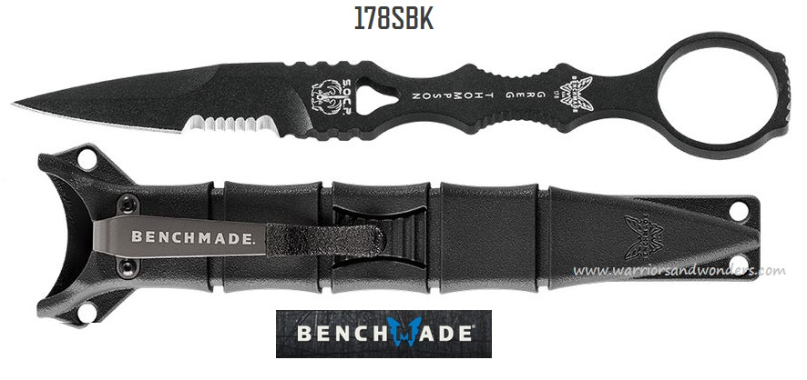 Benchmade SOCP Dagger,440C, 178SBK (Online Only)