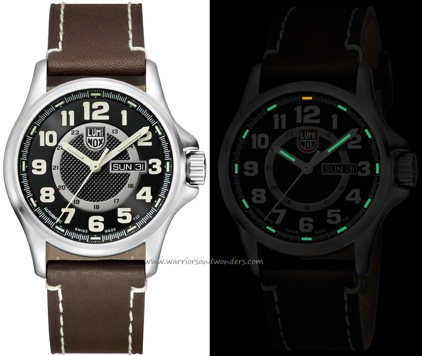 Luminox Land A.1801 Field Automatic Day Date Series