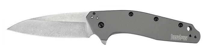 Kershaw 1812GRY Dividend Assited Folder - Grey Aluminum
