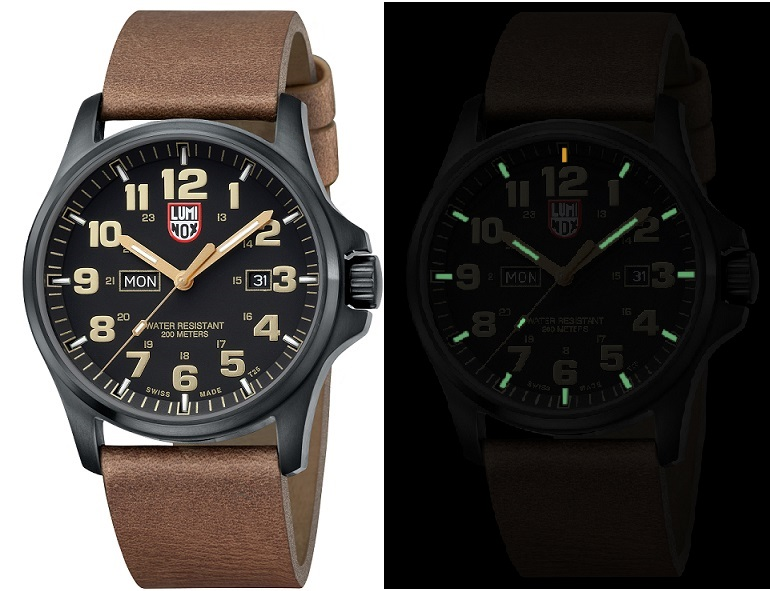 Luminox Land 1929 Field Watch Day&Date - Black/Gold