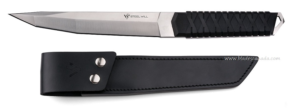 Steel Will Courage 320 Tanto w/ Leather Sheath