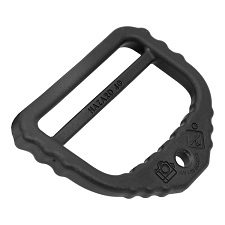 "Hazard 4 Photo 2"" D-Ring - Black"
