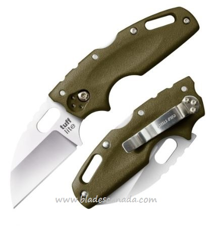 Cold Steel 20LTG Tuff Lite OD Green Folding Knife