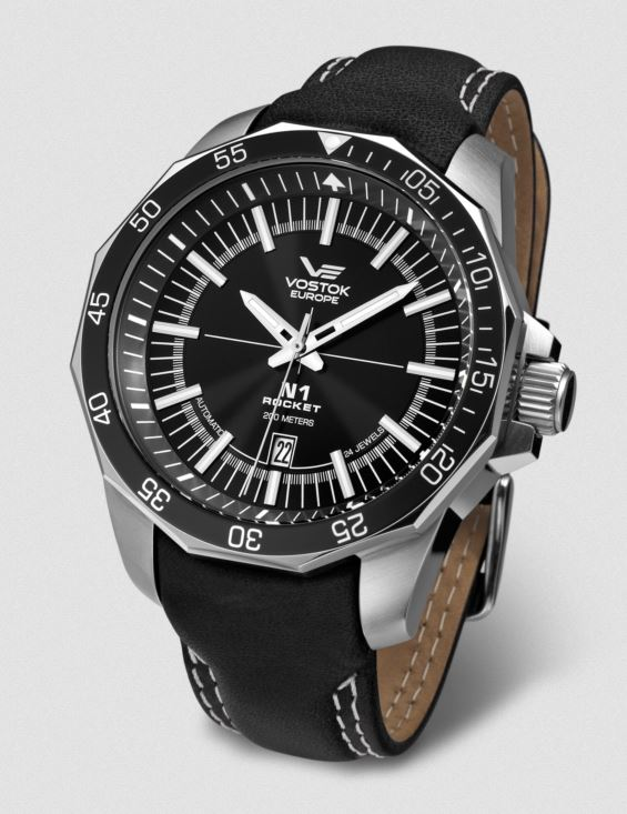 Vostok Europe N1 Rocket Automatic Leather Strap 225146