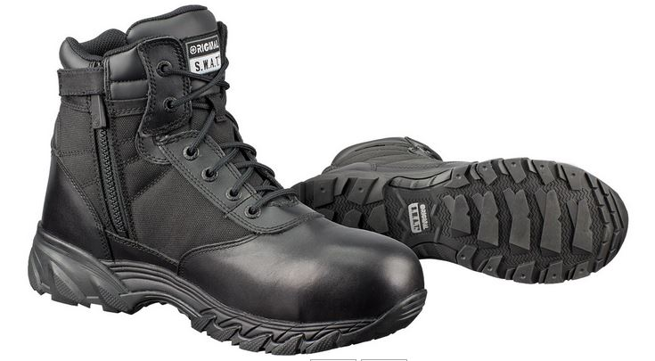 "Original SWAT 226101 Classic 6"" Waterproof Sidezip CSA Boot"