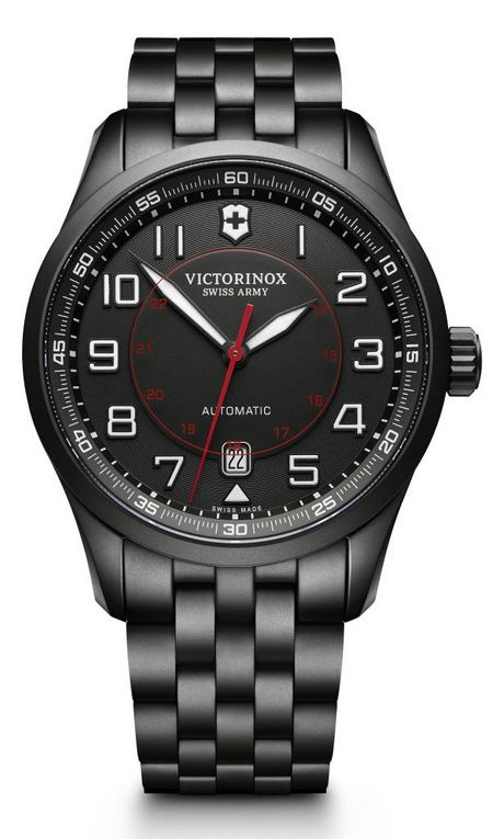 Victorinox AirBoss Mechanical SS Bracelet - Black