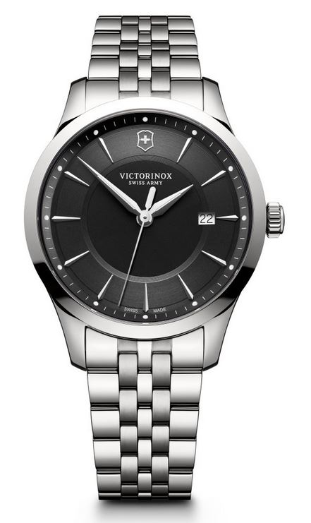 Victorinox Alliance 40mm SS Bracelet - Black