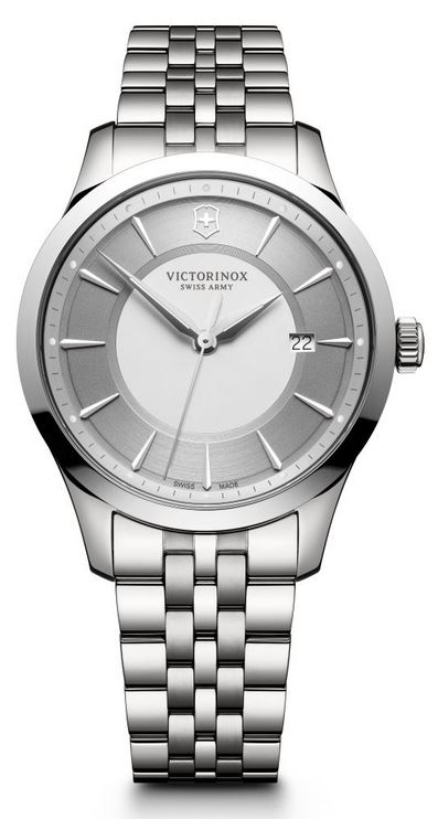 Victorinox Alliance 40mm SS Bracelet - Silver