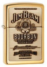 Zippo 16929 Jim Bean - High Polish Brass