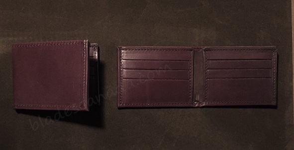Boston Leather 275S-1CC Billfold Wallet - Brown