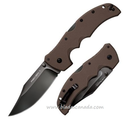 Cold Steel Recon 1 Clip Point Dark Earth CTS XHP 27TLCVF