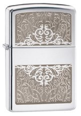 Zippo 28467 Intertwining - High Polish Chrome