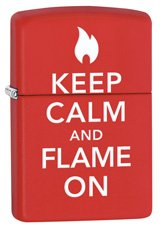 Zippo 28671 Keep Calm and Flame On