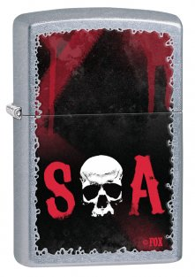 Zippo 28836 - Sons of Anarchy Skull
