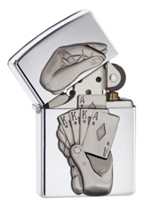 Zippo 28837 - Ace Up The Sleeve