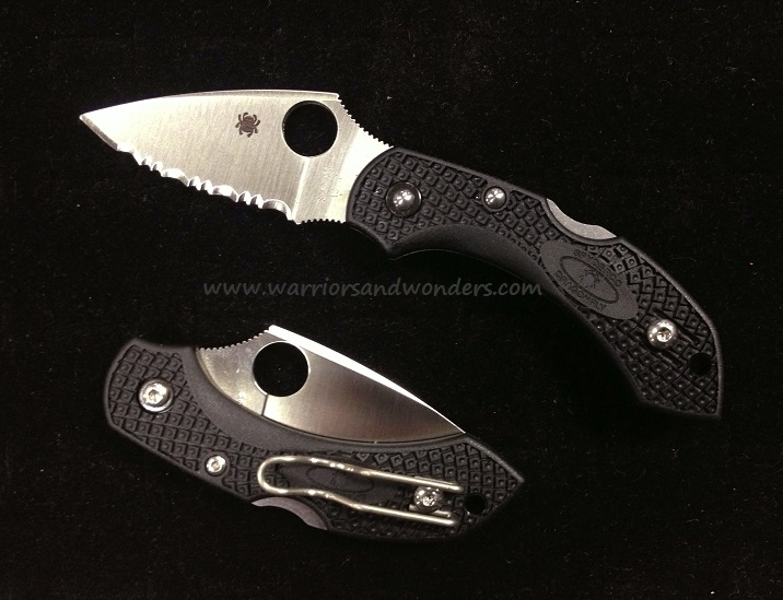 Spyderco Dragonfly FRN 2 SpyderEdge (Fully Serrated) C28SBK2