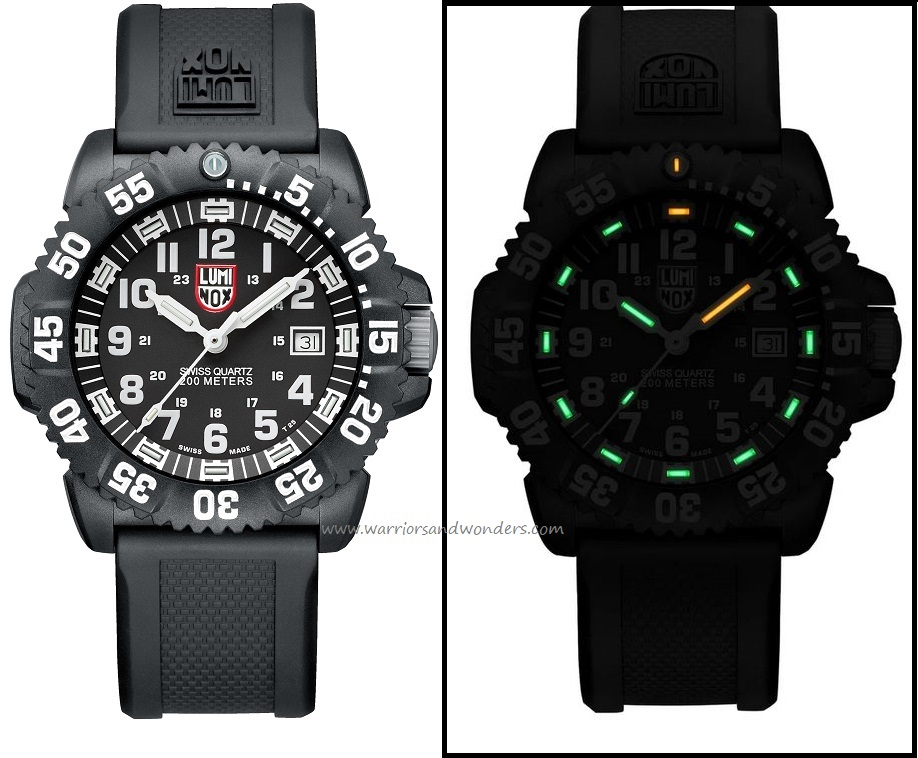 Luminox Sea A.3051 Navy Seal Colormark Series