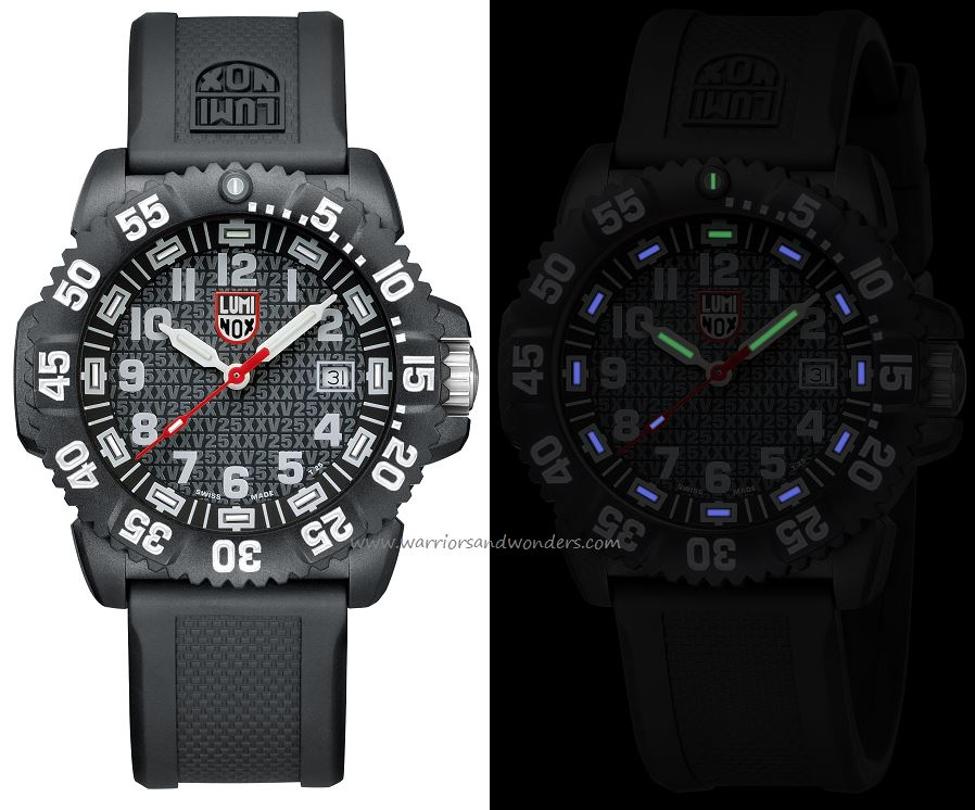 Luminox Sea A.3051.25TH Navy Seal Colormark - 25th Anniversary