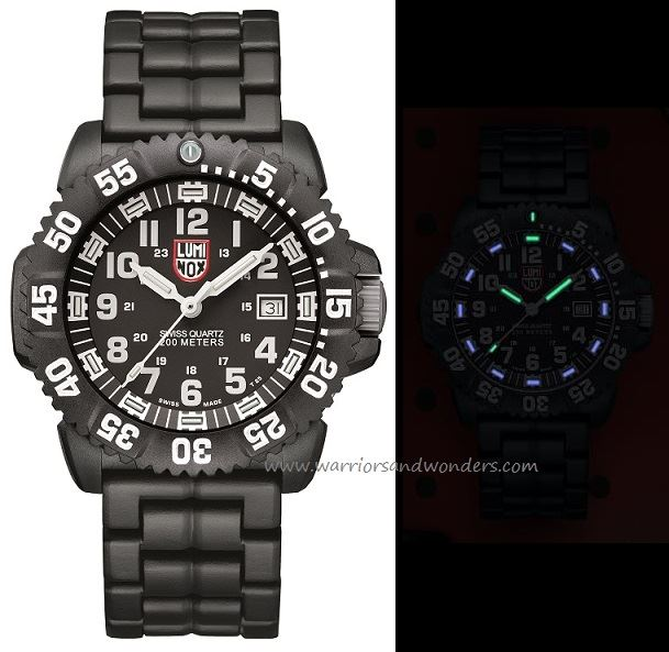 Luminox Sea A.3052 Navy Seal Colormark Series