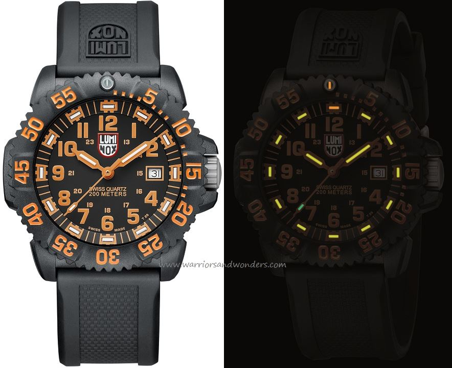 Luminox Sea A.3059 Navy Seal Colormark Series