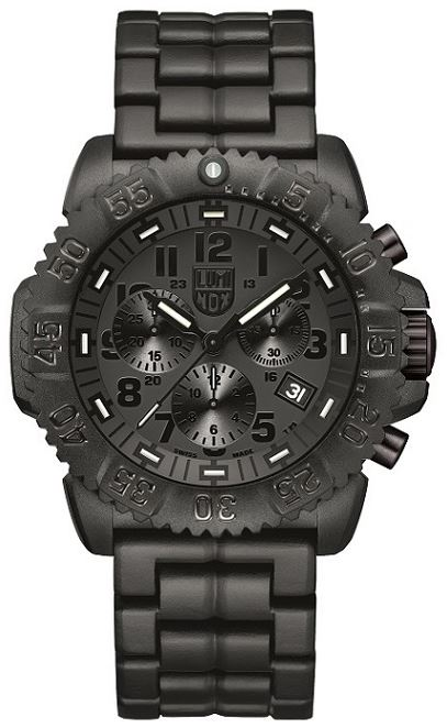 Luminox Sea A.3082.BO Colormark Chronograph Series Blackout