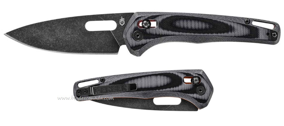 Gerber Sumo Folding Knife Black, G10 31-003927