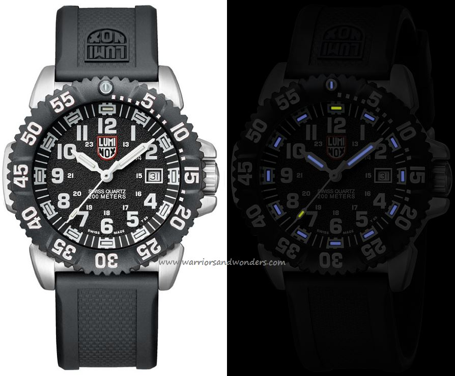 Luminox Sea A.3151 Steel Colormark Series