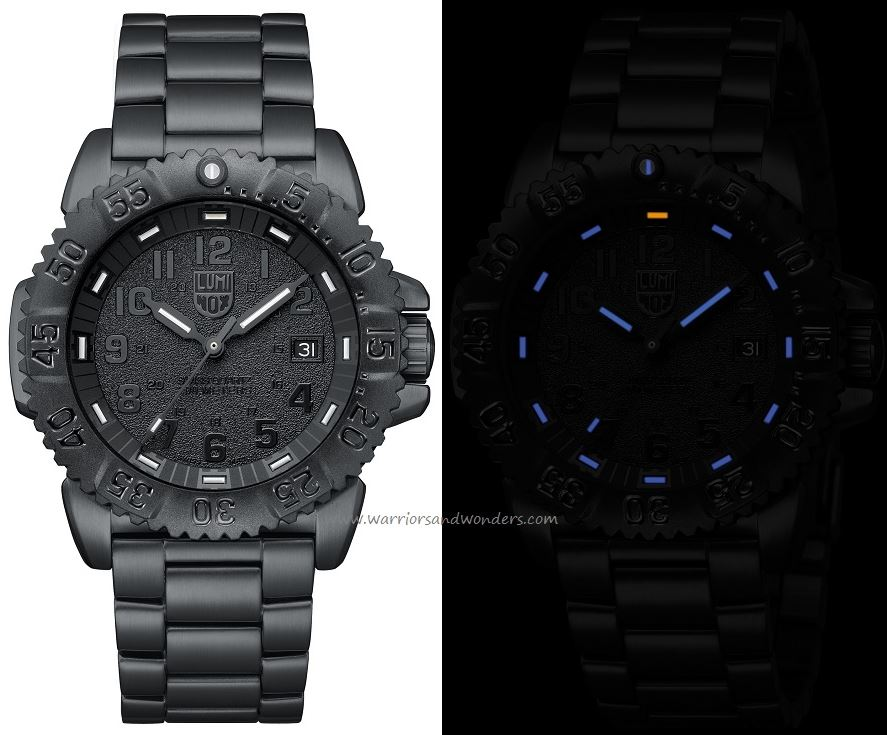 Luminox Sea A.3152.BO Steel Colormark Series