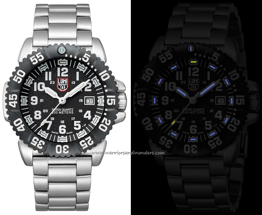 Luminox Sea A.3152.NV Steel Colormark Series