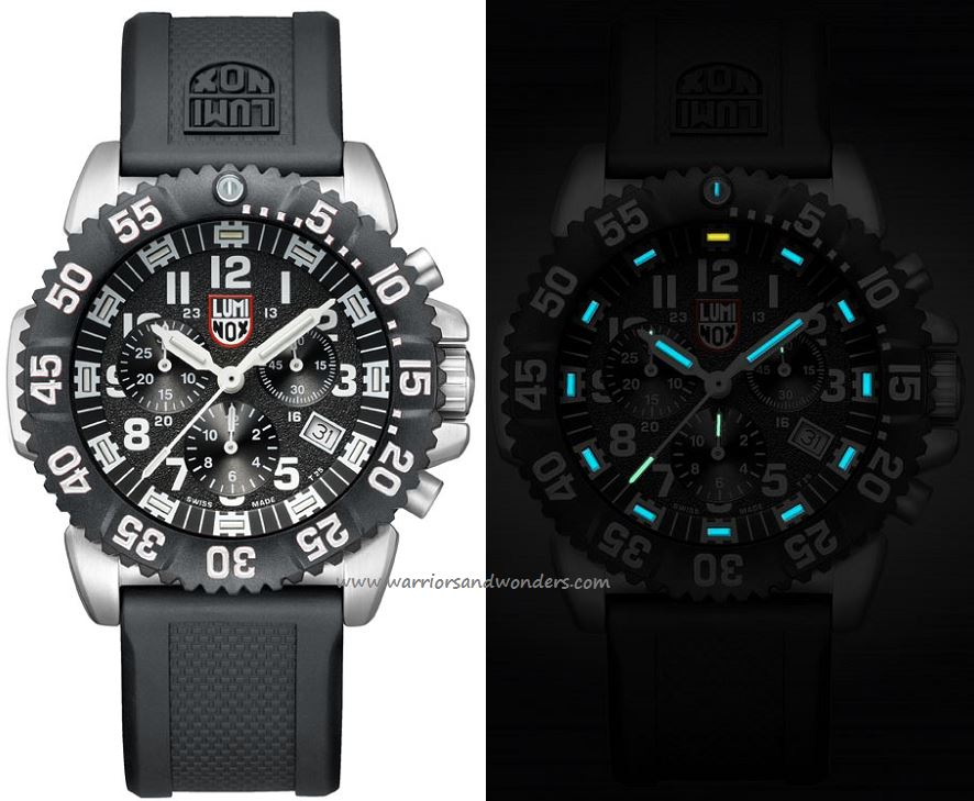 Luminox Sea A.3181 Steel Colormark Chronograph Series